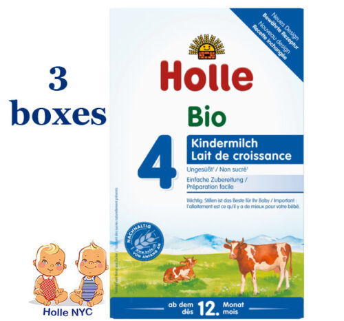 Holle stage 4 Organic Formula 3 Boxes 600g Free Shipping