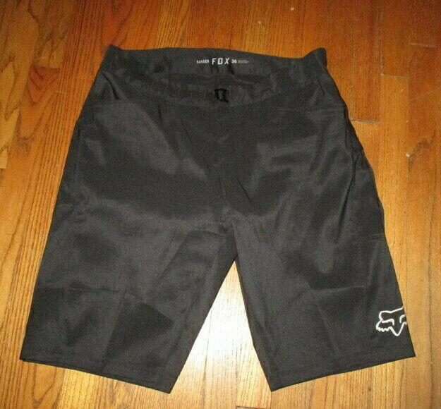 FOX Racing Ranger Black Mtn Bike Cycling Shorts 20927 w/Padd