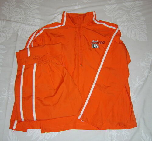 New Women's Hooters Lightweight Track / Warm Up Suit - XS