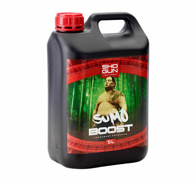 Shogun Sumo Boost 5 Litre Flowering Turbo Boost Nutrient Feed Hydroponics