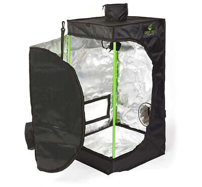 Green Box Grow Tent 50 x 50 x 80cm / 0.5m x 0.5m x 0.8m - Small Grow Tent