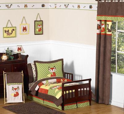 Sweet Jojo Designs 5-Piece Woodland Forest Animals Toddler B