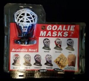 WANTED McDonalds GOALIE MASKS display collectible sign helmet St. John's Newfoundland image 2