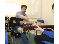 Guitar Lessons in Nottingham and online via Skype - FREE 30 minute lesson