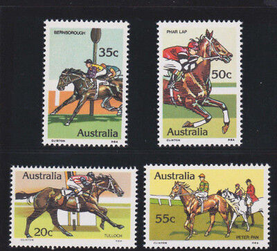 1978 Australia Race Horses SG 699/702 MUH Set 4 for sale  Shipping to Canada