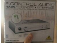 FCA202 FireWire audio interface - for mac
