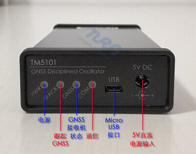 Gpsdo Gnss Disciplined Oscillator Frequency Standard 10mhz Sine Wave Gps Bd