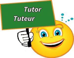 TUTOR - PRIVATE Language Tutor - ENGLISH / FRENCH