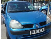 Renault clio 1.2 petrol 12 mot 70k