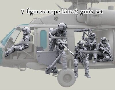 1/35 resin HH-60G Pave Hawk Helicopter Crew set (NO PLANE) unpainted unassembled