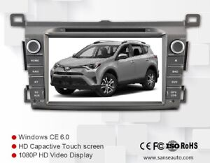 New Toyota RAV4 2013-Up GPS/Navigation, DVD, Bluetooth, Camera