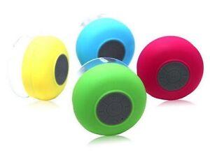 Shower/pool side Bluetooth speaker ( new