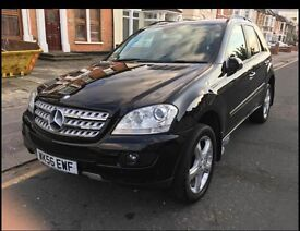 Mercedes ML320 CDI 7G Tronic Full service history