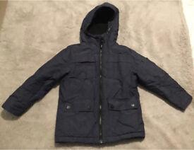 Boys fleece lined jacket Age 5
