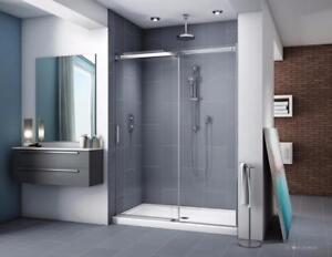 Portes de douche Apollo, Fleurco, en alcôve ou de coin, portection Microtek