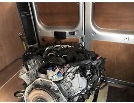 BMW m5 Full engine breaking