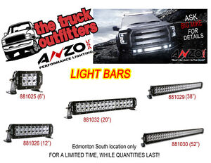 ANZO LIGHT BARS - BLOW OUT SALE