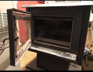 Used wood stove Osborne 1500