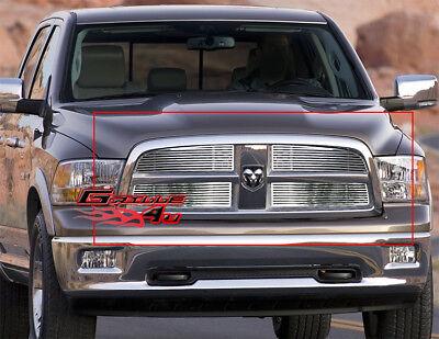 Fits 2009-2012 Dodge Ram 1500 Pickup Perimeter CNC Cut Grille Grill Insert