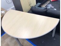 Quality Strong Sturdy Curved Office Tables/ Desks Good Condition Can Deliver