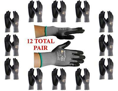 Gtek Maxiflex 34-874 Pip Seamless Knit Nylon Gloves - 12 Pairs - Choose Size