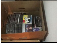 Around 600 CDs old rave, trance, house etc a lot of rare cds