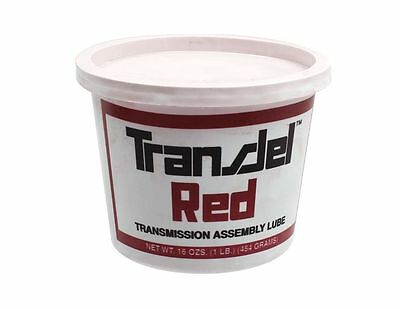 Filtran 801206 Transmission Assembly Lube Red 1 lb Tub Transjel ALL 51 17