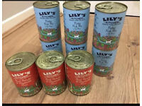 Lily's kitchen dog food.