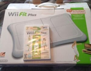 Wii fit balance board /game