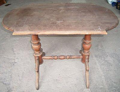 antiker Tisch Eiche zur Restauration