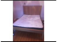 King size bed (ikea herefoss)