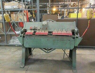 4 X 14 Gage Chicago Dries Krump Box And Pan Finger Brake Bpo-414-6