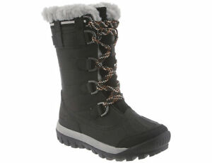 Bearpaw Women's Desdemona Waterproof Boot Black Size 6, New