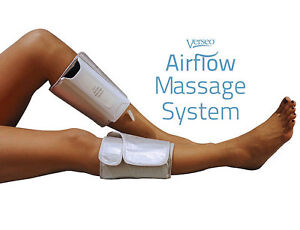 Dual Calf and Foot Airlfow Massager System, New