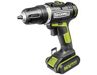 Rockwell 16v Lithium Ion Drill/Driver, New