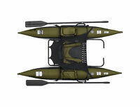 Classic Accessories Bozeman 8' Inflatable Fishing Pontoon Boat