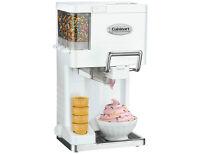 Cuisinart Mix and Serve 1.5qt Ice Cream Maker, New