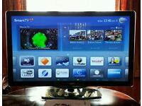 """Phillips 40"""" LCD SMART TV full HD 1080p with AMBILIGHT and perfect pixel HD engine."""