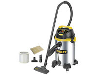 Stanley 10 Gallon Stainless Steel Wet/Dry Vac , New