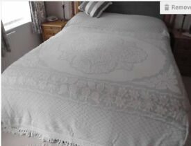 Heavy Cotton King Size Bedspread