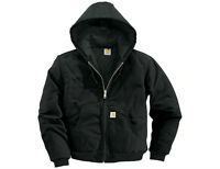 Carhartt® Duck Active Jacket BLACK-TALL Large, New