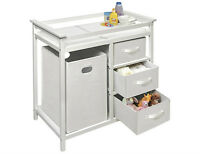 Badger Basket Modern Changing Table - White, New