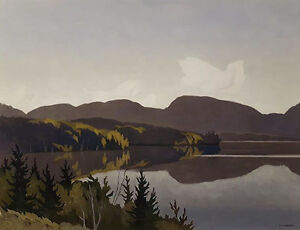 "Limited Edition ""Smoke Lake"" by A.J. Casson"