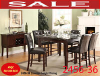 Model 2456-36 counter, dinette set, Pub set