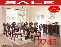 Model 2243-114 10pc, Formal traditional dining set