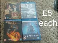 Blu-rays!!! £5 each