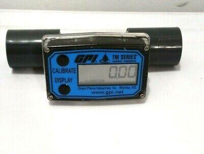 Gpi Electronic Water Meter - 34in Model Tm075-n