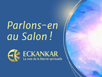 Salon La Colombe  Blanche- Discussions et atelier -Drummondville