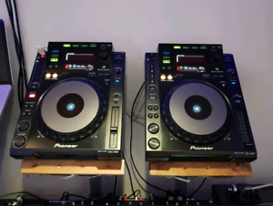 Pioneer CDJ 900 USB players , DJM 900 Nexus available