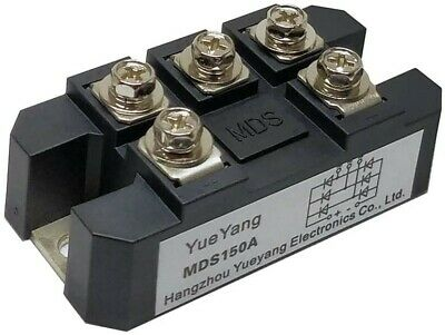Yueyang Mds150a 3-phase Diode Bridge Rectifier 150a1600v Full Wave Diode Module